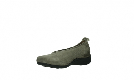 wolky slippers 00359 ballet 40150 suede taupe_10