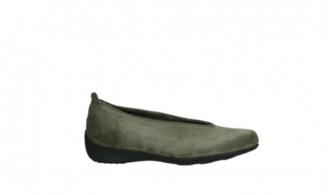 wolky slippers 00359 ballet 40150 suede taupe_2