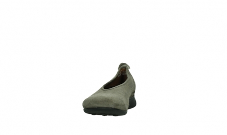 wolky slippers 00359 ballet 40150 suede taupe_8