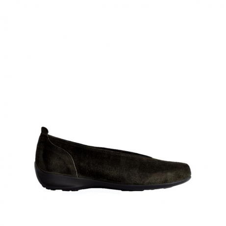 wolky instappers 00359 ballet 40200 grijs suede