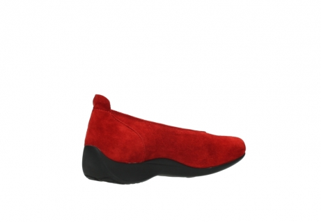 wolky slippers 00359 ballet 40500 suede rouge_10