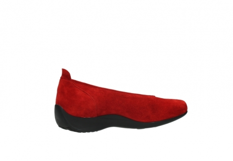 wolky slippers 00359 ballet 40500 suede rouge_11