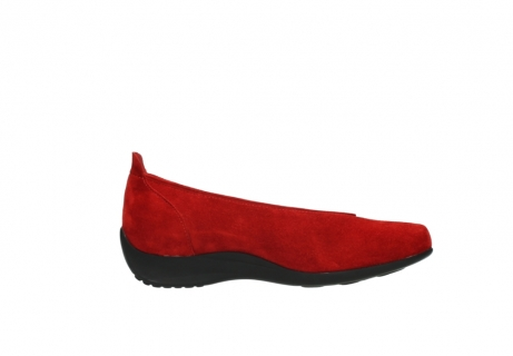 wolky slippers 00359 ballet 40500 suede rouge_13