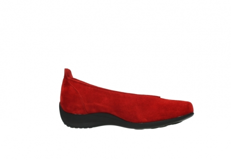 wolky slippers 00359 ballet 40500 suede rouge_14