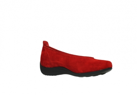 wolky slippers 00359 ballet 40500 suede rouge_15