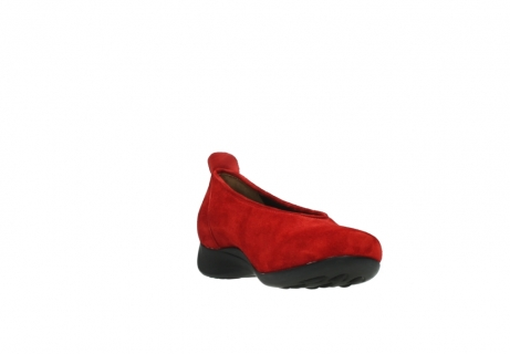 wolky slippers 00359 ballet 40500 suede rouge_17