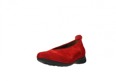 wolky slippers 00359 ballet 40500 suede rouge_21
