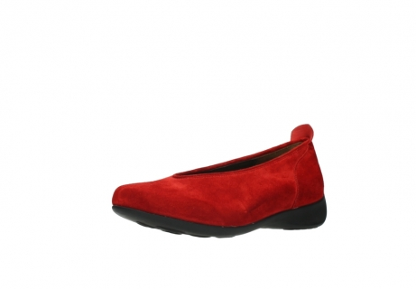 wolky slippers 00359 ballet 40500 suede rouge_22