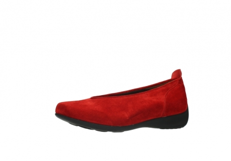 wolky slippers 00359 ballet 40500 suede rouge_23