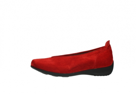wolky slippers 00359 ballet 40500 suede rouge_24