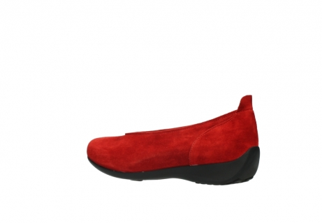 wolky slippers 00359 ballet 40500 suede rouge_3