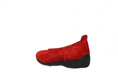 wolky slippers 00359 ballet 40500 suede rouge_4