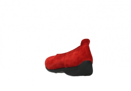 wolky slippers 00359 ballet 40500 suede rouge_5