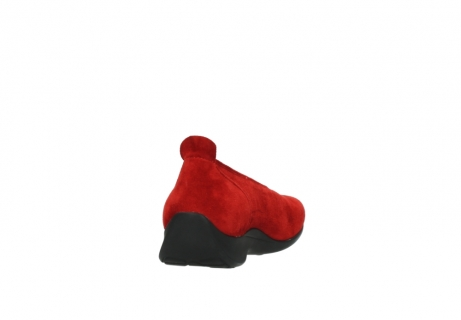 wolky slippers 00359 ballet 40500 suede rouge_8