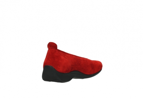 wolky slippers 00359 ballet 40500 suede rouge_9