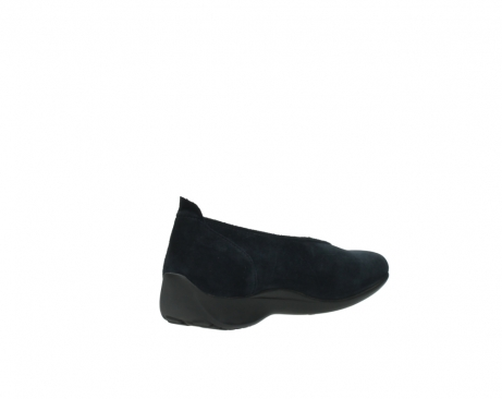 wolky instappers 00359 ballet 40800 donkerblauw suede_10