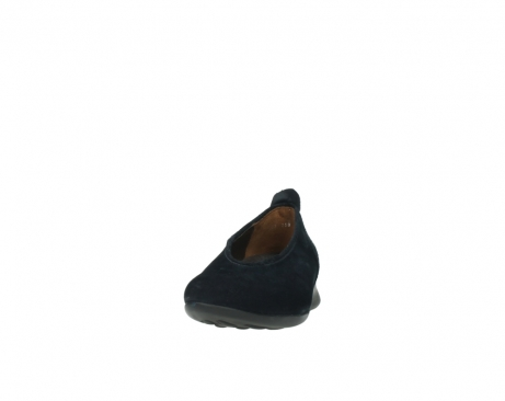 wolky instappers 00359 ballet 40800 donkerblauw suede_20