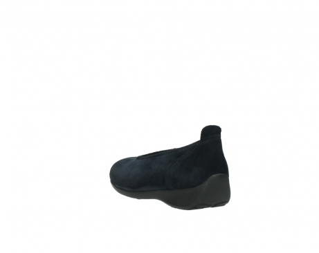 wolky slippers 00359 ballet 40800 suede bleu_5