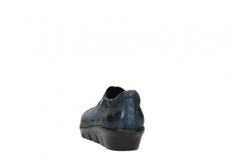 wolky slippers 00665 cursa 10823 marineblau metallic nubuk_6