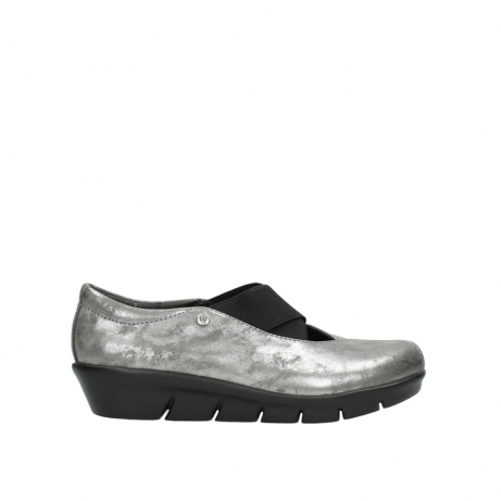 wolky slippers 00665 cursa 10203 grau nubuk
