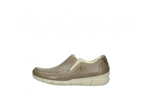 wolky slippers 01511 sekani 70150 taupe leder_1
