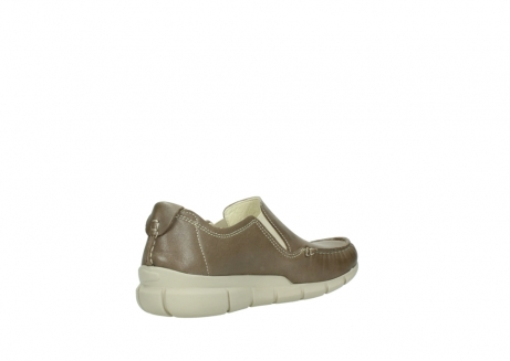 wolky slippers 01511 sekani 70150 taupe leder_10
