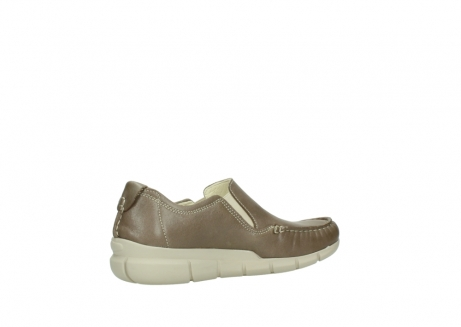 wolky slippers 01511 sekani 70150 taupe leder_11