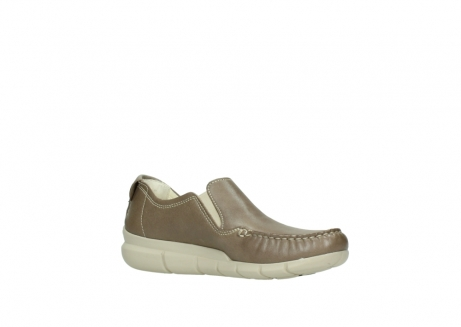 wolky slippers 01511 sekani 70150 taupe leder_15