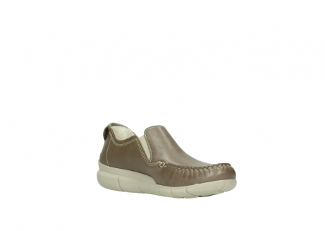 wolky slippers 01511 sekani 70150 taupe leder_16