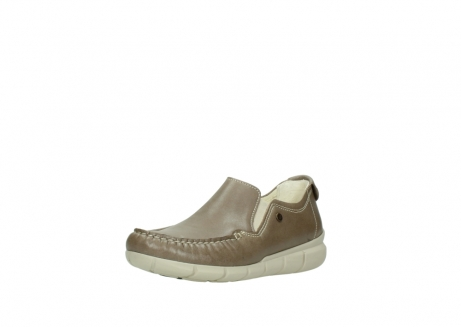 wolky slippers 01511 sekani 70150 taupe leder_22