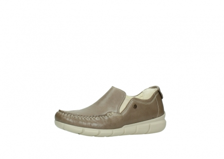 wolky slippers 01511 sekani 70150 taupe leder_23