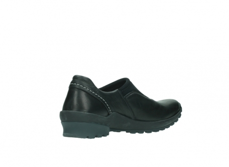 wolky slipons 01740 arches 20000 black leather_10