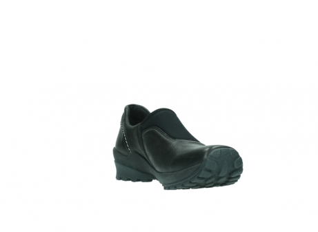wolky slipons 01740 arches 20000 black leather_17