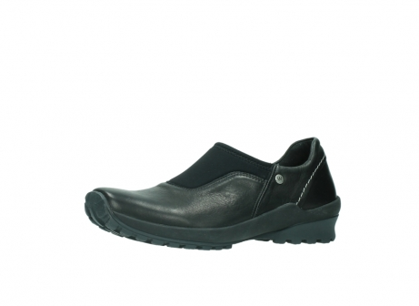 wolky slipons 01740 arches 20000 black leather_23