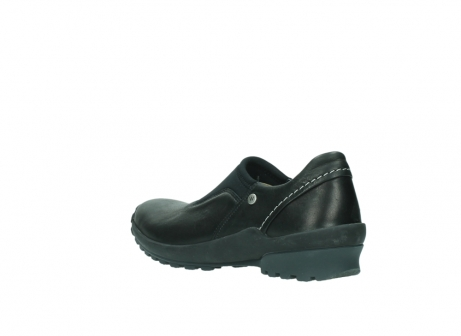 wolky slipons 01740 arches 20000 black leather_4