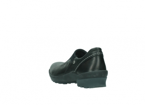 wolky slippers 01740 arches 20000 schwarz leder_5