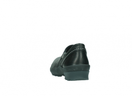 wolky slipons 01740 arches 20000 black leather_6