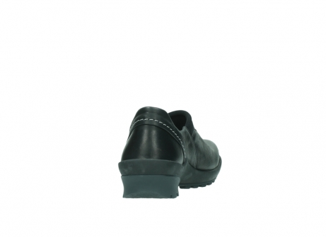 wolky slipons 01740 arches 20000 black leather_8
