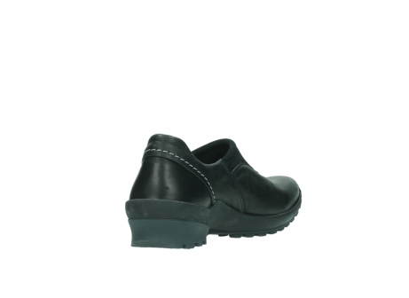 wolky slipons 01740 arches 20000 black leather_9