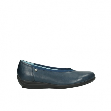 wolky slippers 0383 fairton 380 blau leder