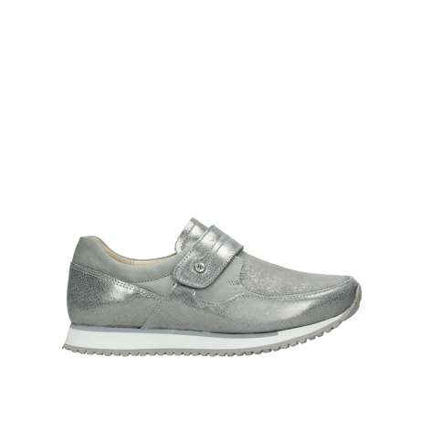 wolky instappers 0580749200 grey stretch suede