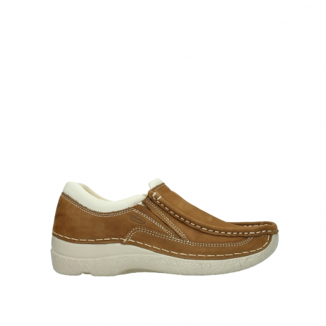 wolky slippers 06206 roll sneaker 10410 tobacco nubuk