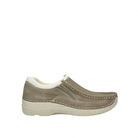 wolky instappers 06206 roll sneaker 10150 taupe nubuck