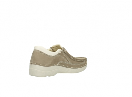 wolky instappers 06206 roll sneaker 10150 taupe nubuck_10
