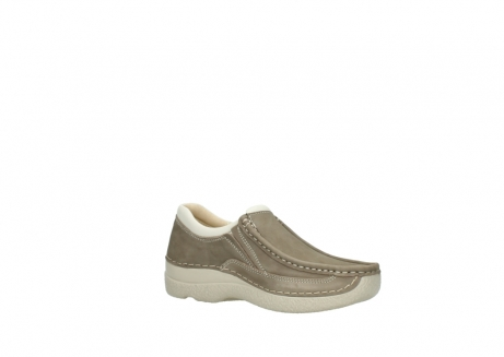 wolky instappers 06206 roll sneaker 10150 taupe nubuck_15