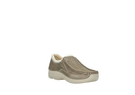 wolky instappers 06206 roll sneaker 10150 taupe nubuck_16
