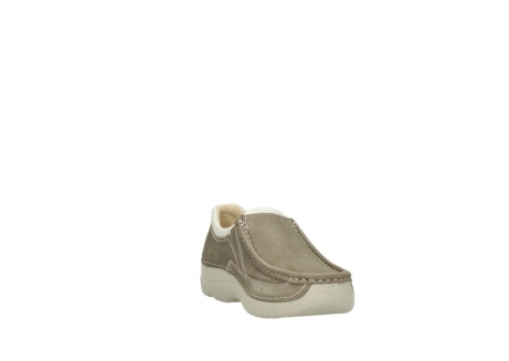 wolky instappers 06206 roll sneaker 10150 taupe nubuck_17