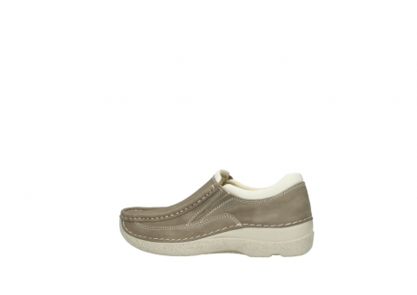 wolky instappers 06206 roll sneaker 10150 taupe nubuck_2