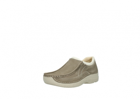 wolky instappers 06206 roll sneaker 10150 taupe nubuck_22