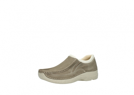 wolky instappers 06206 roll sneaker 10150 taupe nubuck_23